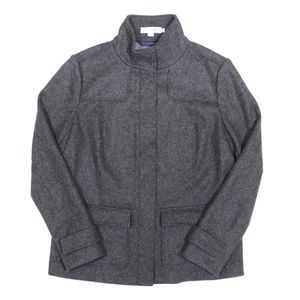Boden Boiled Wool Full Zip Jacket
